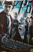 Daniel Radcliffe Signed Harry Potter & The Half Blood Prince Poster Auto BAS COA