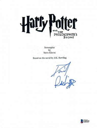 Daniel Radcliffe Signed HARRY POTTER & THE PHILOSOPHER'S STONE Script BAS COA