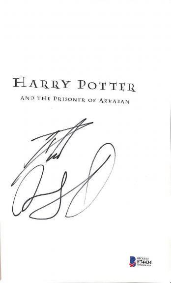 Daniel Radcliffe Signed Harry Potter & The Prisoner Of Azkaban Beckett Bas Coa 1