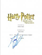 Daniel Radcliffe Signed HARRY POTTER & THE PRISONER OF AZKABAN Script COA VD