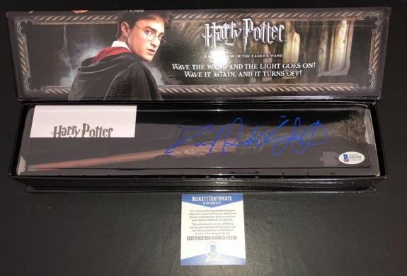 Daniel Radcliffe Signed Harry Potter Wand Authentic Autograph Beckett Bas Coa