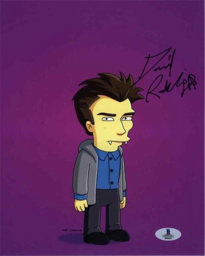 Daniel Radcliffe Simpsons Autographed Signed 8x10 Photo Beckett BAS COA