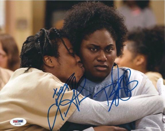 Danielle Brooks And Uzo Aduba Signed 8x10 Photo *Orange Is The New Black PSA