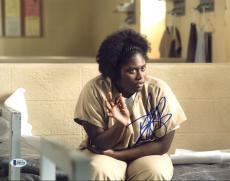 Danielle Brooks Orange Is The New Black Signed 11X14 Photo BAS #B84324