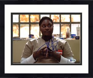 Danielle Brooks Orange Is The New Black Signed 8X10 Photo BAS #B71954