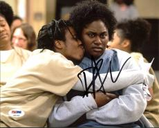 Danielle Brooks Orange Is The New Black Signed 8X10 Photo PSA #Z91250