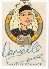 "DANIELLE CORMACK as the Animated EPHINY in ""XENA & HERCULES"" Signed CERTIFIED CARD"
