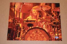 Danny Carey Signed Autographed 11x14 Photo Drummer of TOOL Beckett BAS COA