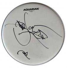 Danny Carey Tool Autographed Signed Authentic Drumhead AFTAL COA