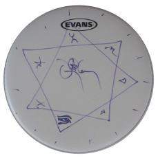 Danny Carey Tool Autographed Signed Evans Drumhead AFTAL COA