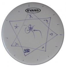 DANNY CAREY TOOL Autographed Signed Evans Drumhead AFTAL COA