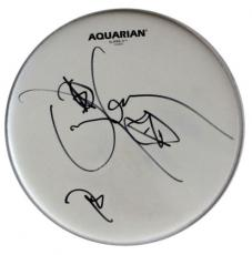 DANNY CAREY TOOL Awesome Autographed Signed Drumhead AFTAL COA
