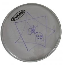 DANNY CAREY TOOL Concert Played Autographed Signed Drumhead Authentic COA