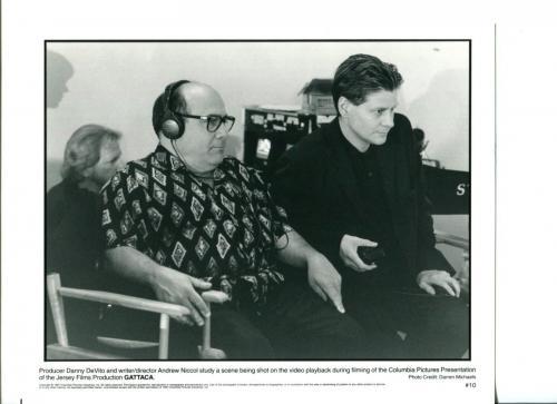 Danny DeVito Andrew Niccol Gattaca Original Press Still Movie Photo