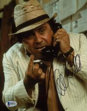 "Danny DeVito Autographed 8"" x 10"" On Phone Holding Cigarette Photograph - Beckett COA"