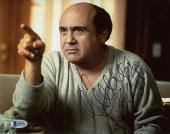 "Danny DeVito Autographed 8"" x 10"" Pointing Finger Photograph - Beckett COA"