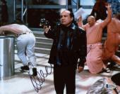 "Danny DeVito Autographed 8"" x 10"" Pointing Gun  Photograph - Beckett COA"