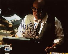 "Danny DeVito Autographed 8"" x 10"" Typewriter Photograph - Beckett COA"
