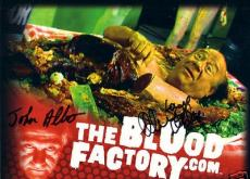 Danny DeVito autographed signed auto Blood Factory Comic-Con promo photo card