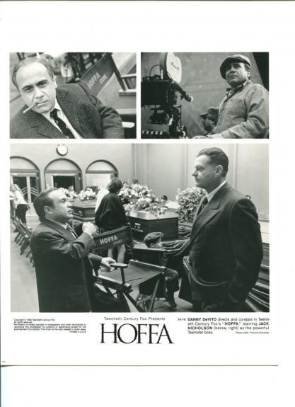 Danny DeVito Jack Nicholson Hoffa Original Movie Still Press Photo