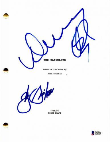 Danny Devito & Jon Grisham Signed Autograph - The Rainmaker Full Movie Script