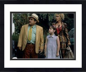 Danny DeVito Rhea Perlman Signed Autographed 11X14 Photo Matilda JSA HH37662