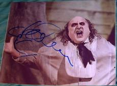 "Danny Devito Signed Autograph ""batman Returns"" Classic Penguin 8x10 Photo Coa"