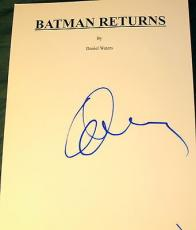 "Danny Devito Signed Autograph ""batman Returns"" Full 128 Page Movie Script Coa"