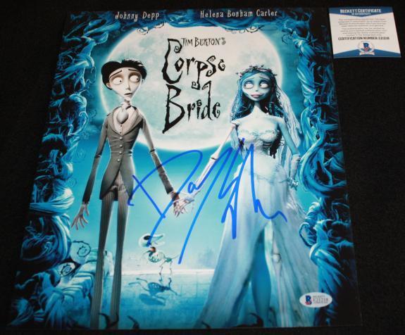 Danny Elfman signed 11 x 14, Corpse Bride, Disney, Beckett BAS E21218