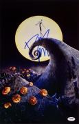 Danny Elfman Signed Nightmare Before Christmas 11x17 Photo Photograph PSA Y34823