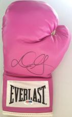 Danny Garcia Swift Signed Pink Everlast Boxing Glove PSA/DNA COA V21599