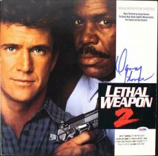 Danny Glover Signed Lethal Weapon 2 Laser Disc Cover W/ Disc Psa/dna #v16005