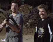 Danny Mcbride & Nick Swardson Signed 11X14 Photo PSA/DNA #P72345