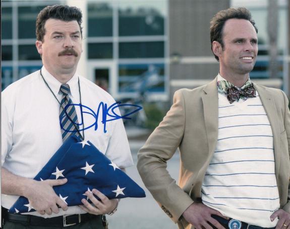 DANNY MCBRIDE signed (VICE PRINCIPALS) 8X10 photo *NEAL GAMBY*  W/COA #1
