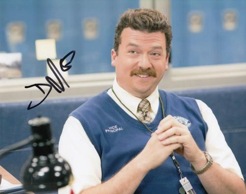 DANNY MCBRIDE signed (VICE PRINCIPALS) 8X10 photo *NEAL GAMBY*  W/COA #2