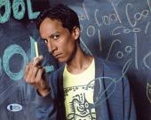 Danny Pudi Community Signed 8x10 Photo Autographed BAS #D17153