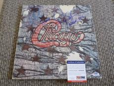 Danny Seraphine Autographed Signed Chicago III LP Album Record PSA Certified