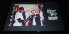 Danny Tartabaull Signed Framed 11x17 Photo Display Seinfeld w/ George Costanza