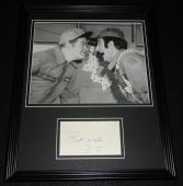 Danny Thomas Signed Framed 11x14 Photo Display w/ Bob Hope