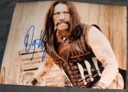 """Danny Trejo Signed Autograph """"machete"""" Fighting Photo"""