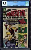 DAREDEVIL #1 (1964) CGC 9.4 OWW PAGES Origin & 1st Appearance CGC #1227555001