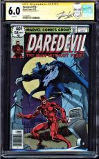 Daredevil #158 Cgc 6.0 White Ss Stan Lee Frank Miller's Run Begins  #1227609015