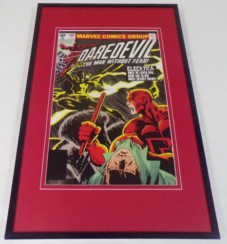 Daredevil #168 Framed 12x18 Cover Poster Display Official Repro