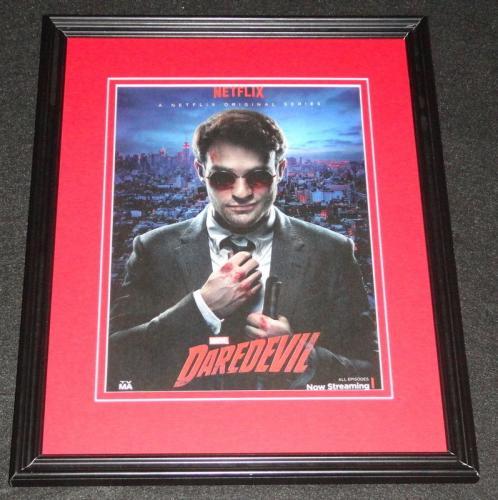 Daredevil 2015 Netflix Framed 11x14 ORIGINAL Advertisement Charlie Cox