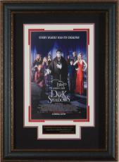 Dark Shadows Johnny Depp Signed 11x17 Poster Framed