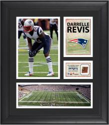 Darrelle Revis New England Patriots Framed 15'' x 17'' Collage with Game-Used Football