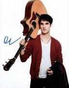 Darren Chris Glee Autographed Photo UACC RD AFTAL RACC TS