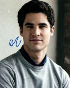Darren Chris Glee Signed Autographed Photo UACC RD AFTAL RACC TS