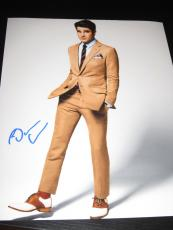 DARREN CRISS SIGNED AUTOGRAPH 8x10 PHOTO GLEE SEXY GQ HUNK IN PERSON COA O