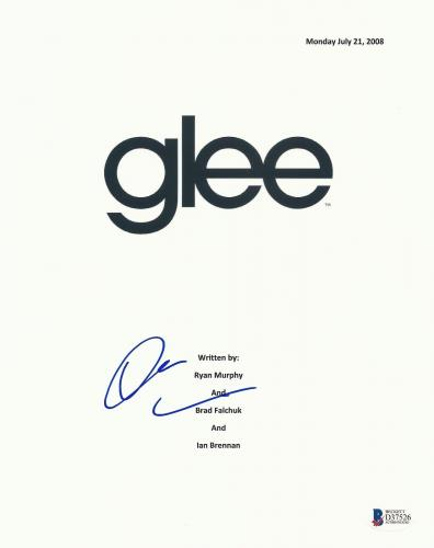 Darren Criss Signed Glee Full 62 Page Script Screenplay Authentic Auto Beckett